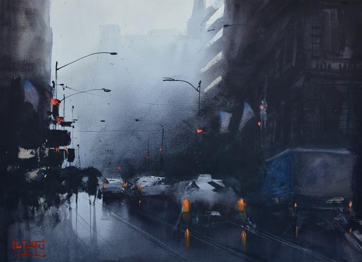 Rainy Day NY