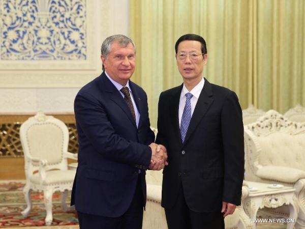 «Роснефть» может поставлять вКитай 10 млрд кубометров газа вгод