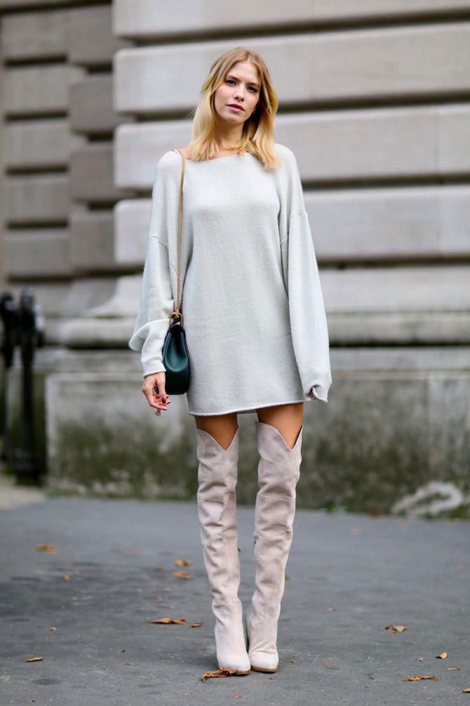Платье-свитер: Какое выбрать…