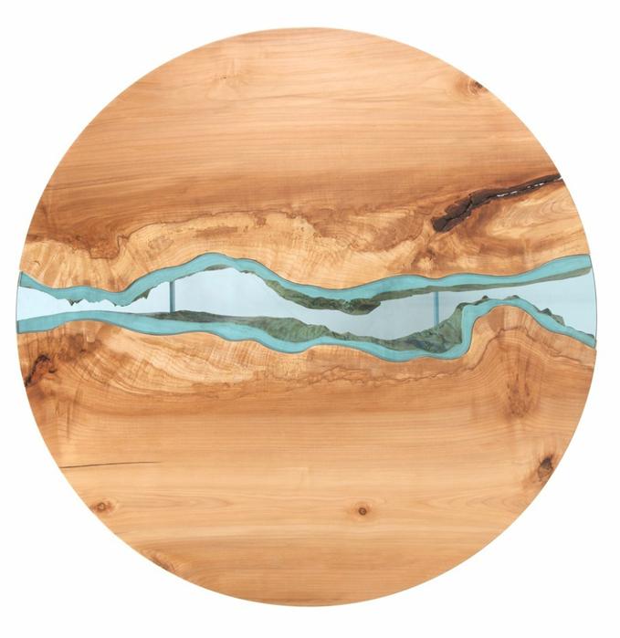 красивые деревянные столы Greg Klassen фото 9 (679x700, 339Kb)