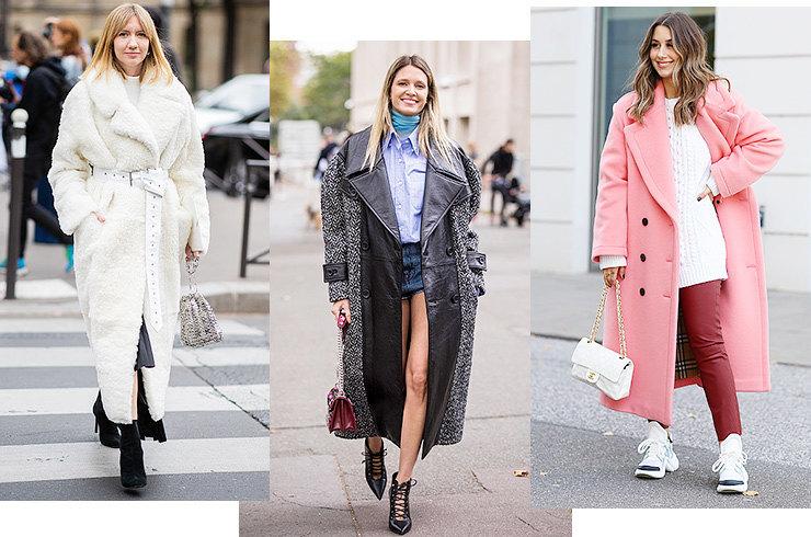 Макси-пальто: какую модель выбрать и с чем ее носить