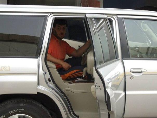 Необычный арабский Nissan Patrol