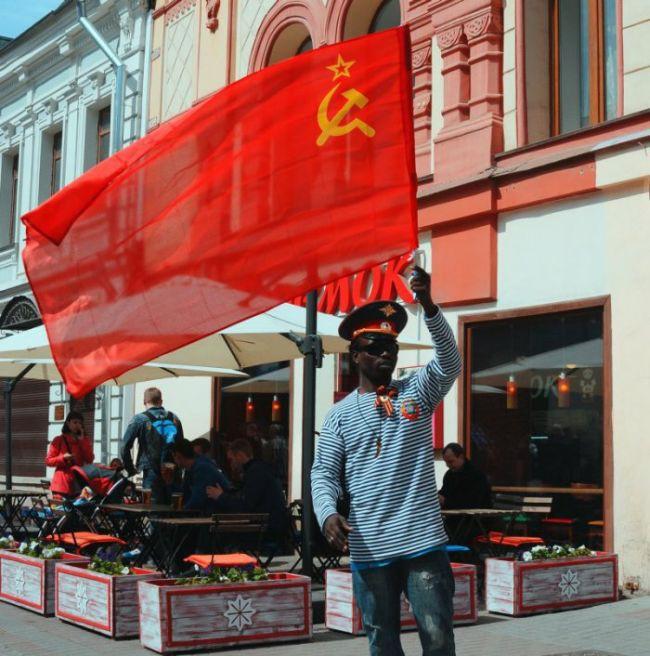Как живут негры в России люди, негры, россия