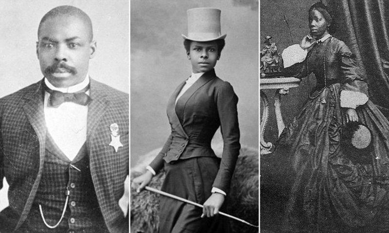 Редкие исторические фотографии чернокожих людей 19-го века