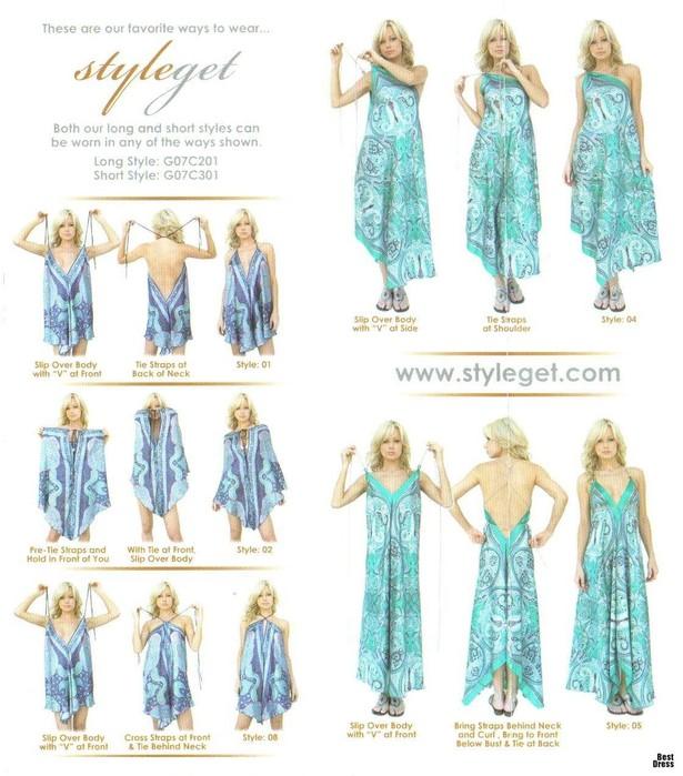 Как быстро сшить летнее платье своими руками выкройка