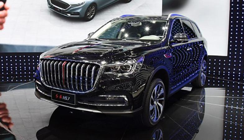 Компания FAW выводит на рынок премиальный внедорожник Hongqi HS7