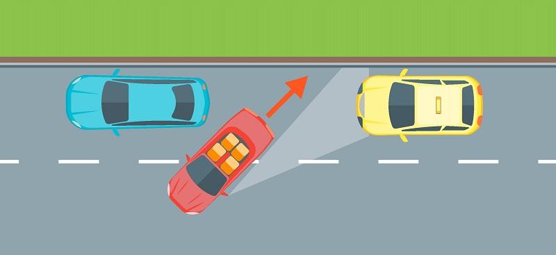 параллельная парковка в 3 этапа