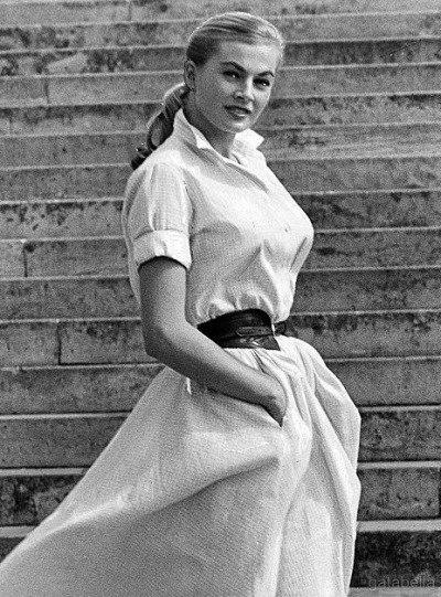 Анита Экберг 1958 год.