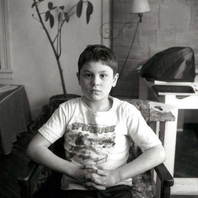 7-летний Роберт Де Ниро, 1950 дети, известность, история, фото