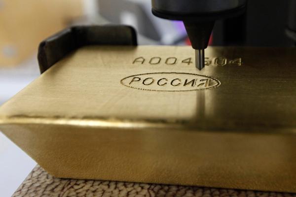 Доля золота в международных резервах страны достигла исторического максимума
