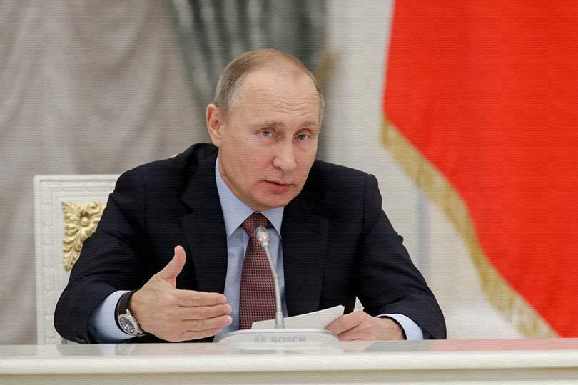 Президент Путин заявил, что …