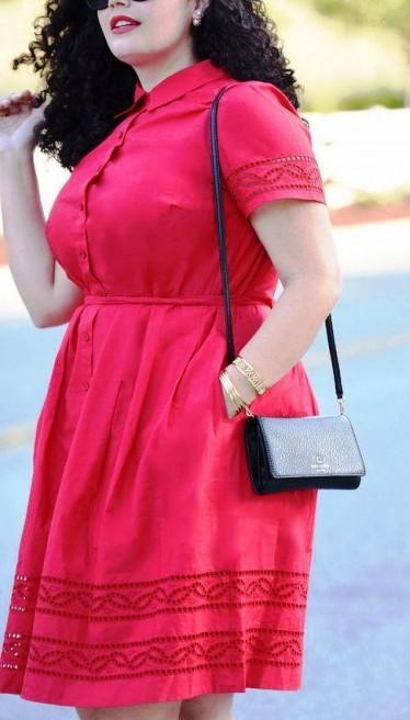 Модные летние образы от блоггеров plus-size
