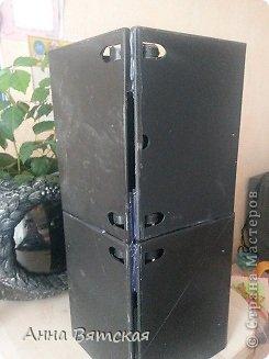 Мастер-класс Хлам-декор  предмет для нужных вещей  Материал бросовый фото 7