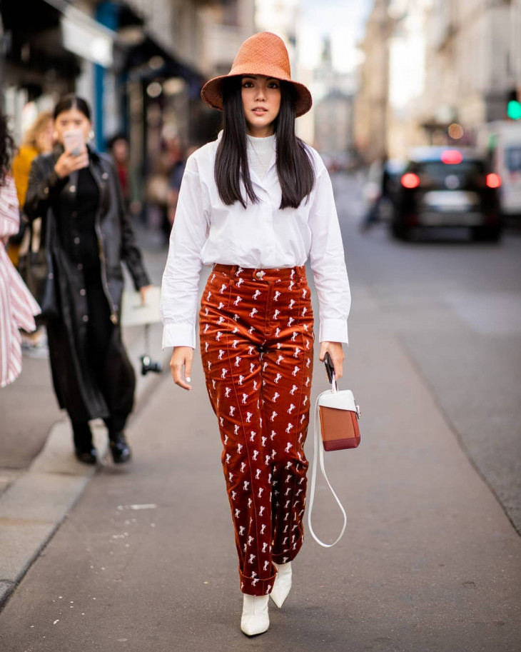 какие брюки в моде - вельветовые
