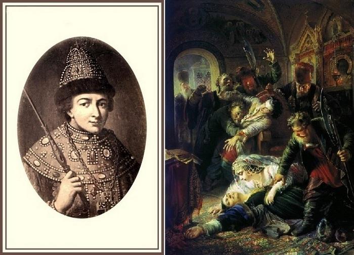 Российские монархи,которые были убиты