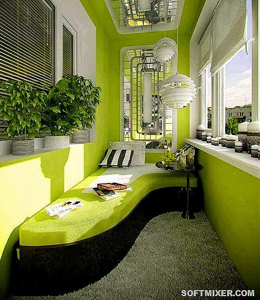 Двадцать идей для вашего балкона. Красотень!!!