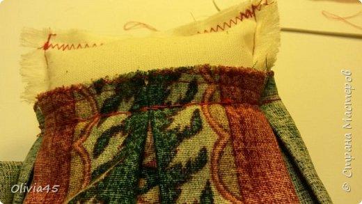 Мастер-класс Поделка изделие Рисование и живопись Шитьё Принцессы курятника  пакетницы небольшой МК Краска Кружево Пуговицы Ткань фото 16