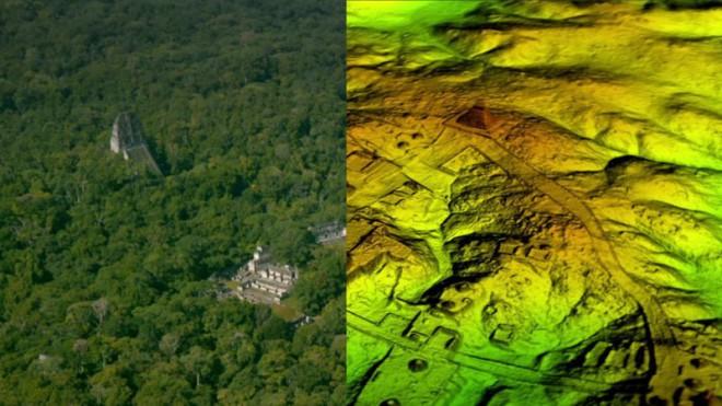 Археологи обнаружили под джунглями гигантский город майя, в котором могли жить до 10 миллионов человек