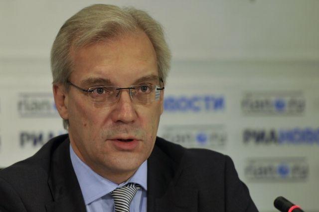 Путин освободил от обязанностей постпреда РФ при НАТО