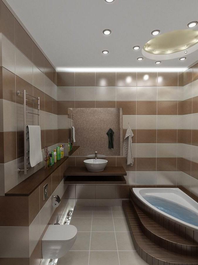 Дизайн ванной комнаты фото 9 кв метров