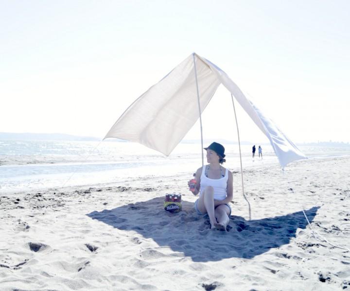 Необычный пляжный тент. Маст…
