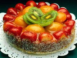 Фруктовый пирог.