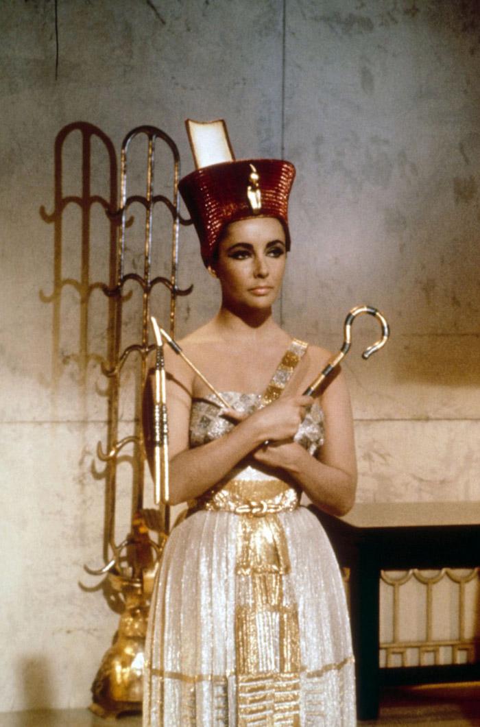 Элизабет Тейлор (Elizabeth Taylor) на съемках фильма «Клеопатра» (Cleopatra) (1963), фото 13