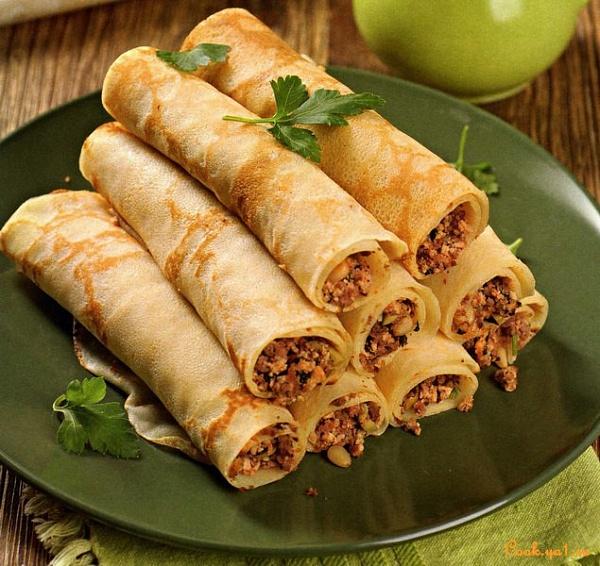 11 вариантов аппетитной начинки для блинчиков