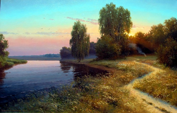 пейзажи Вячеслав Хабиров - 01