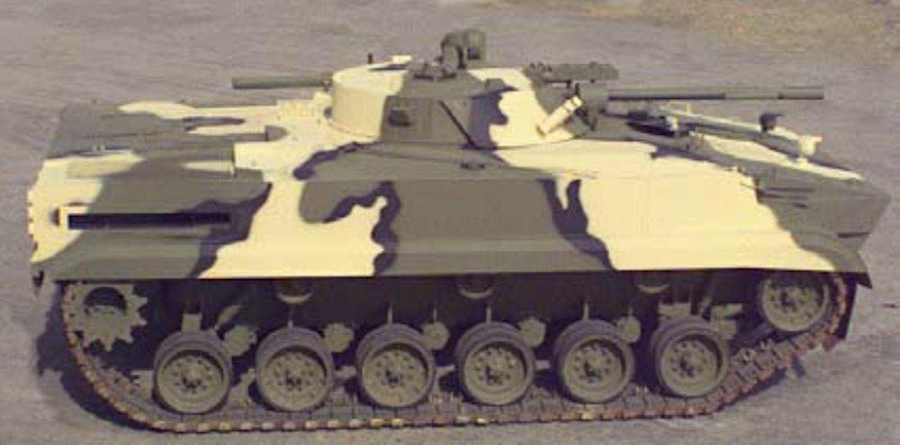 Американская переделка танков М60А3 в ходовые макеты БМП-3