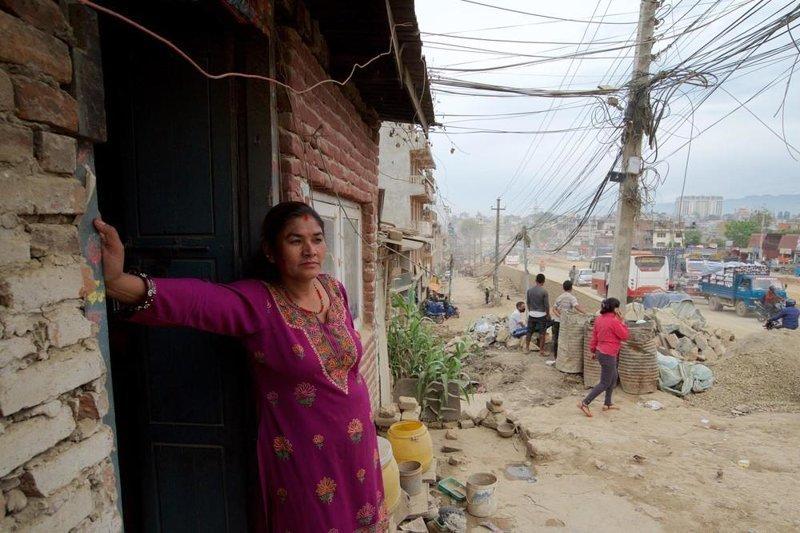 Пригородные дороги Катманду - настоящий ад авто, дороги, интересное, катманду, непал, ужас, фото