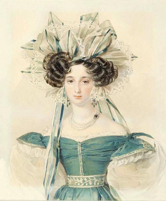 Рассматриваем портреты: самая красивая возлюбленная Пушкина