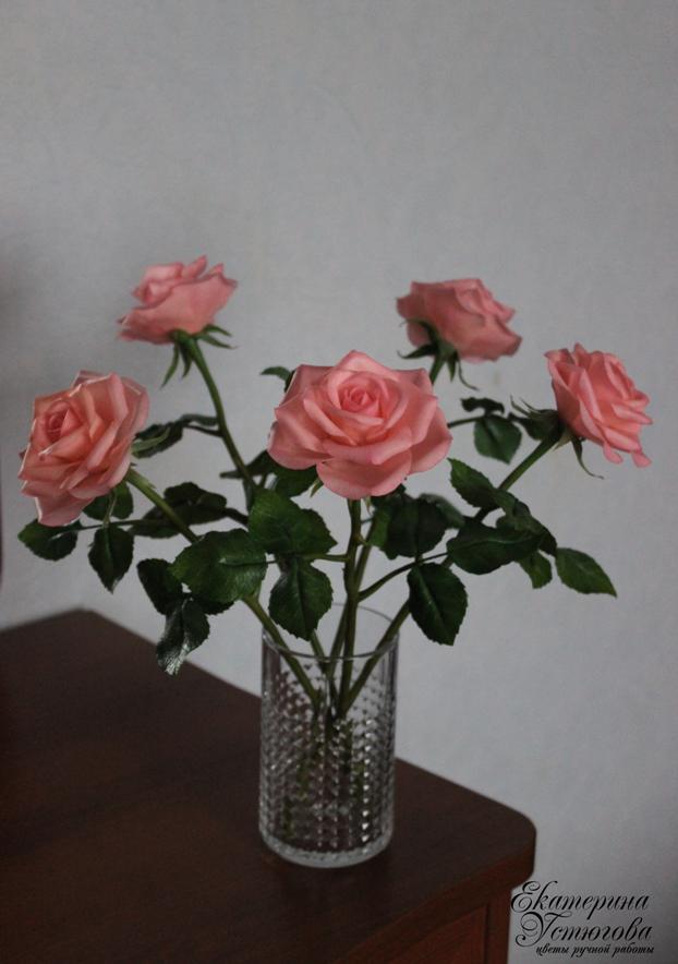 Цветы и украшения из полимерной глины (холодный фарфор)