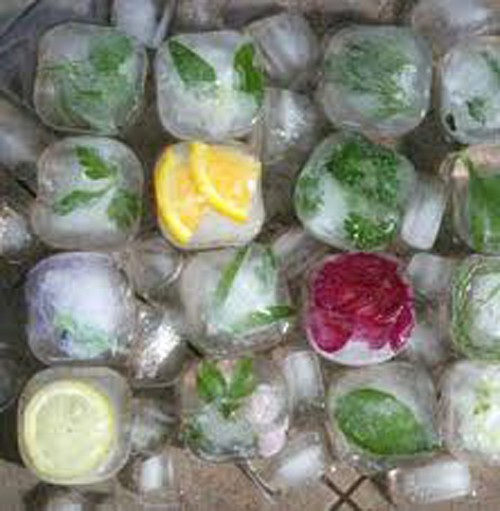 Приготовление льда в домашних условиях для лица