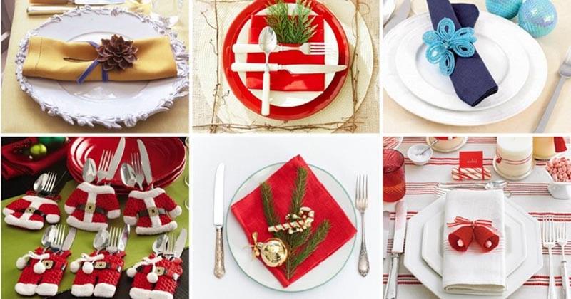 Украсьте свой праздничный стол красиво сложенными салфетками. Несколько простых способов