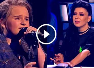 Настя из Саратова исполнила трогательную песню Джоша Гробана «Per Te» и потрясла всех