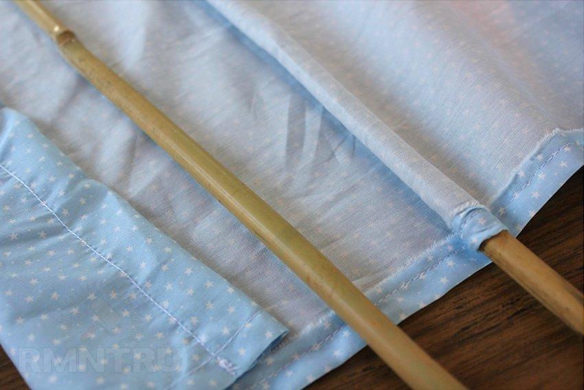 Римские шторы своими руками. Пошаговая инструкция