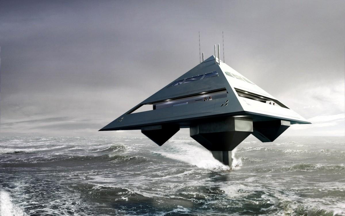 Тетраэдрон: самая странная яхта в истории