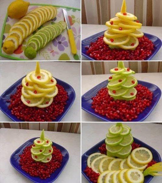 Яркие идеи для новогоднего стола