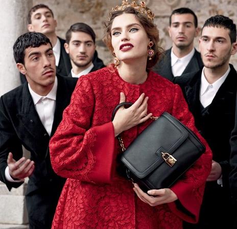 Dolce & Gabbana — носите то, что делает вас счастливой и неотразимой! Вот и все правила!