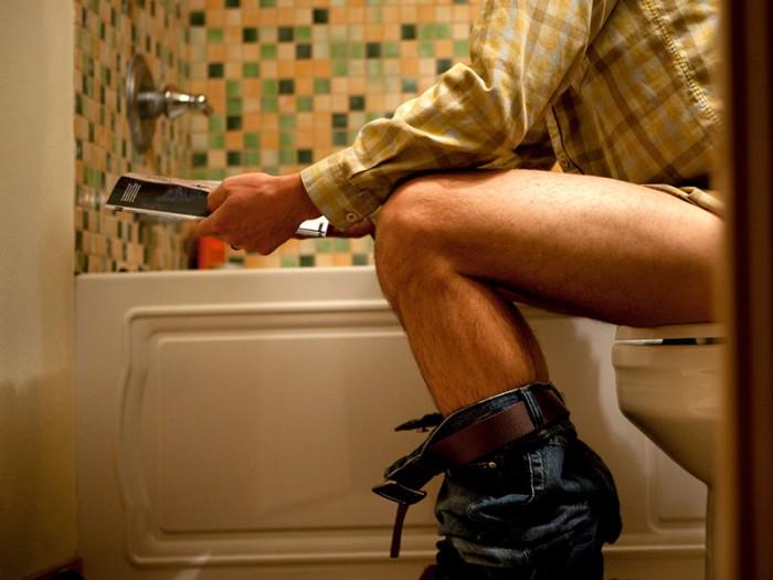 Ты сидел в туалете неправильно всю свою жизнь. Вот как надо