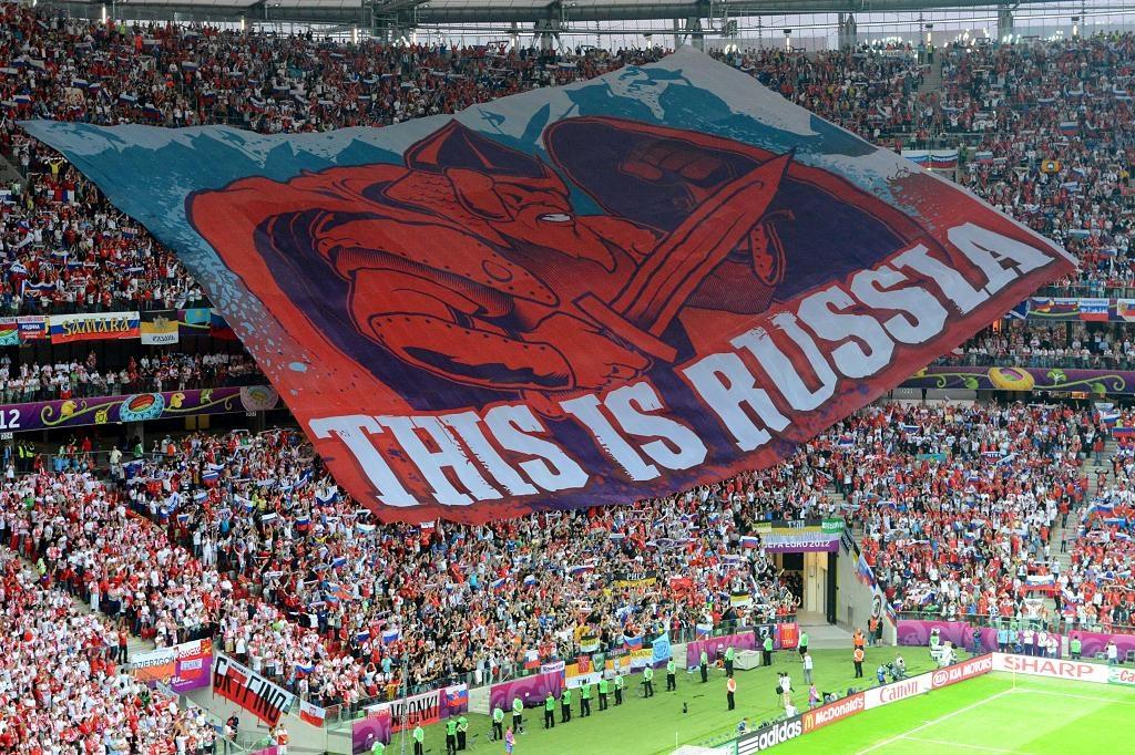 Эталон стадионного патриотизма:  До мурашек по коже...