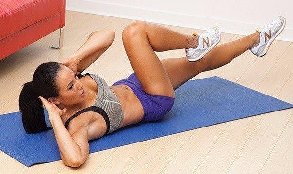 Упражнения от обвисшего живота, просто бомба, помогает на 100%