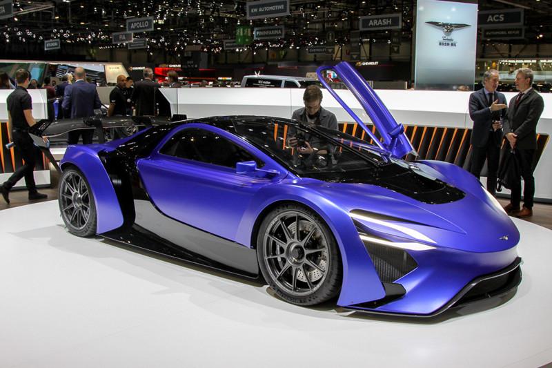 Новый китайский автомобиль из Женевы