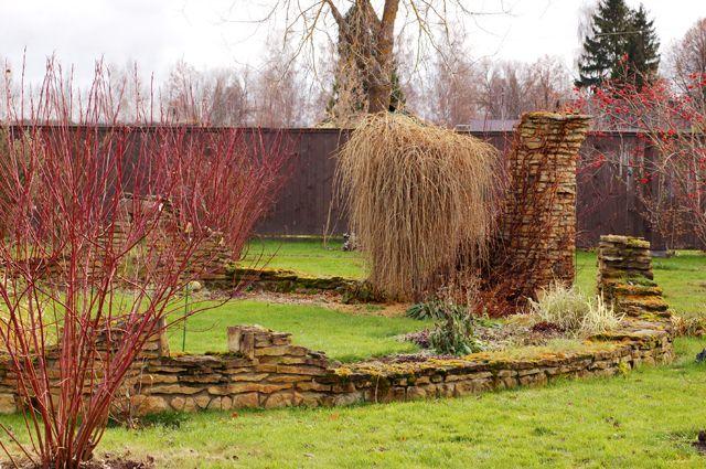 Строим… руины! Древние развалины привлекут внимание к вашему саду
