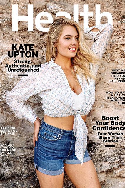 Кейт Аптон бросила вызов завистникам и опубликовала свои снимки без фотошопа