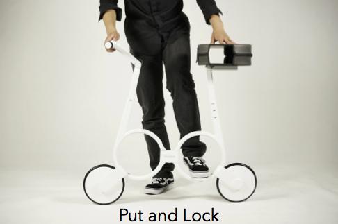 Карманный велосипедик