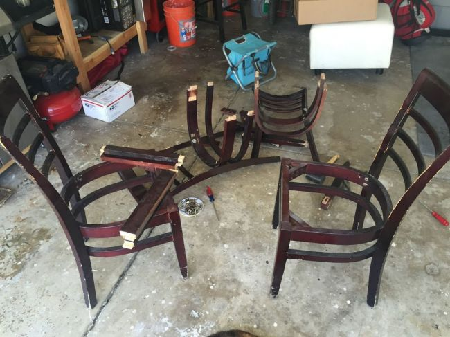 Изготовления стульев своими руками