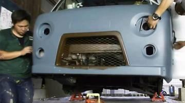 Как в Японии подделывают УАЗ 4х4 «Буханка»