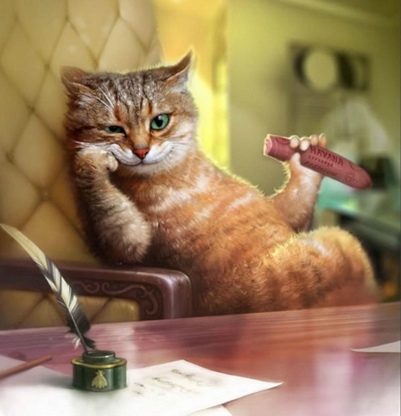 Воспоминания старой кошки